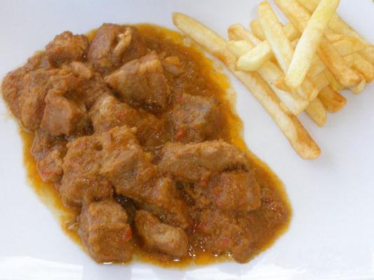 Carne en Salsa de Cabezada