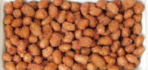Cacahuetes miel y panela