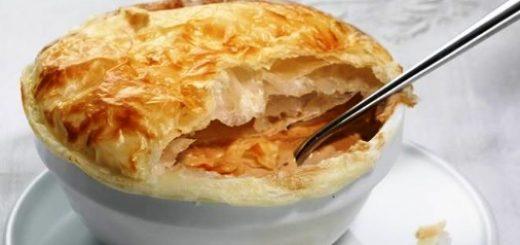 Tartaleta crema de champiñon